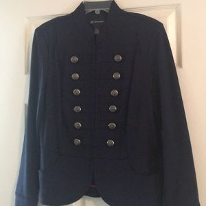Jacket by INC, new never worn. Size XL, Navy Blue